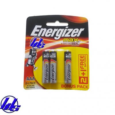 Pin AAA Energizer E92-BP3 (B2C1) Max Power Seal - Vỉ 3 viên
