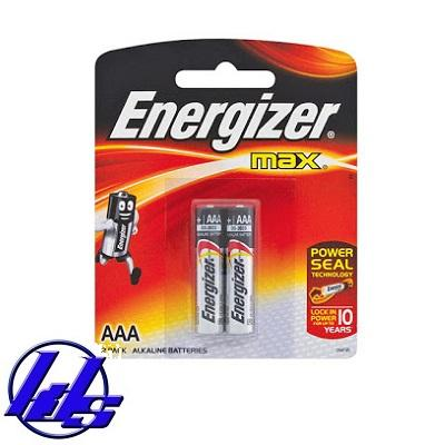 Pin AAA Energizer E92 BP2 Max Power Seal - Vỉ 2 viên