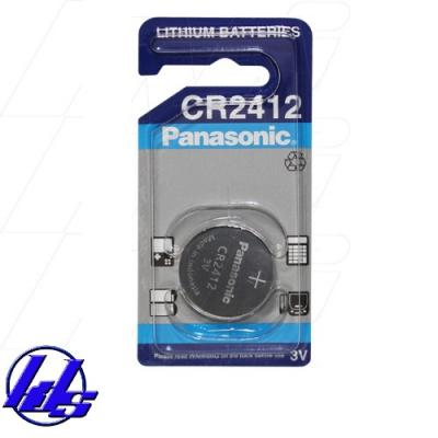 Pin CR2412 Panasonic lithium 3V - Vỉ 1 viên